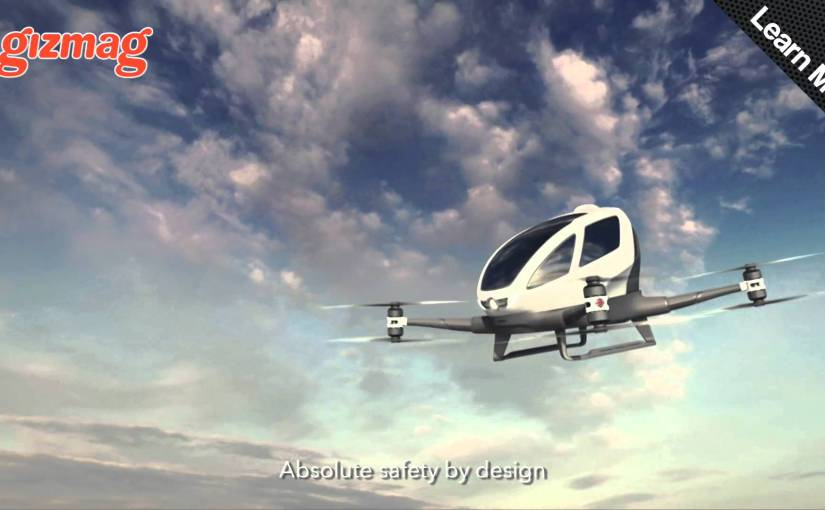 Ehang's commuter drone