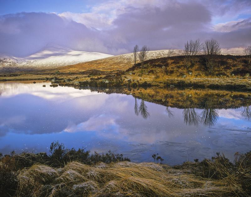 First Light Rannoch  Rannoch Moor Glencoe Scotland