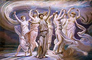 The Pleiades by Elihu Vedder