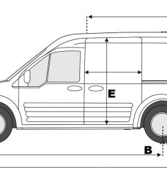 ford transit connect mk1 lwb [ 1350 x 589 Pixel ]