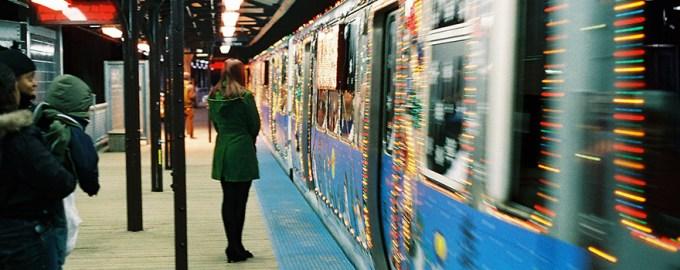 cta holiday train bus - Cta Christmas Train 2014