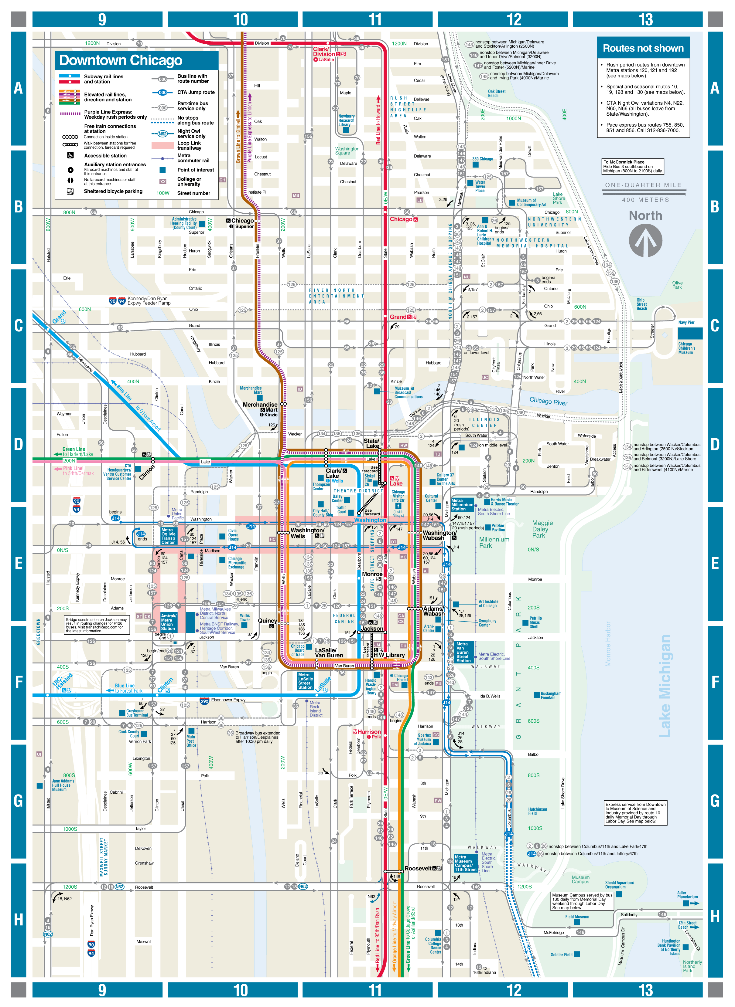 Web Based Downtown Map