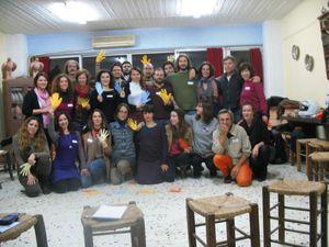 Our friends in Akadimia Platonos, Athens.