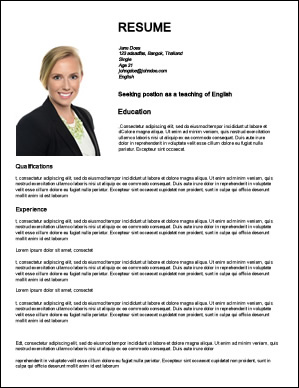 How To Create Web Resumes For Jobs Teaching English Abroad
