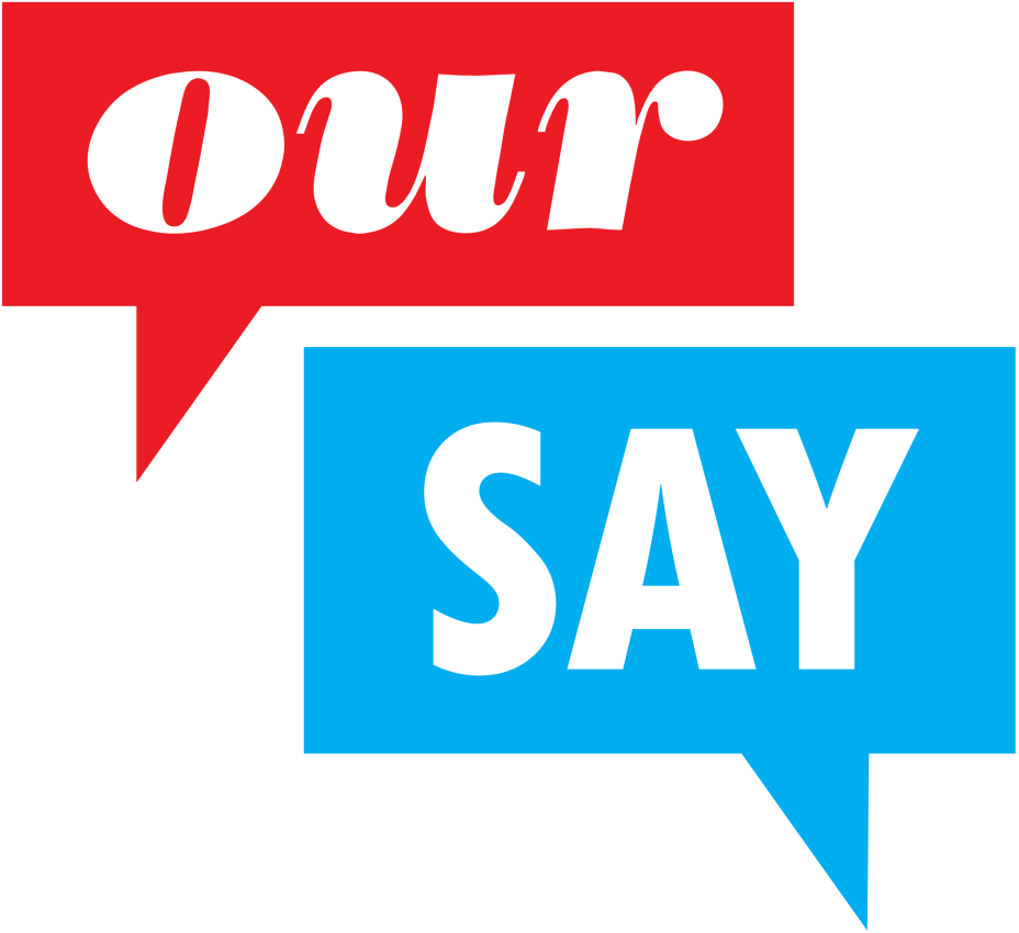 our say