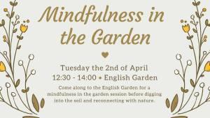 Mindfullness in the Garden @ English Garden