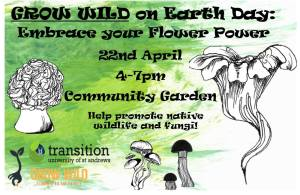 Grow Wild on Earth Day: Embrace Your Flower Power @ St Andrews Community Garden