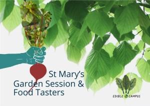 St Mary's Garden Session & Food Tasters @ St Mary's Garden