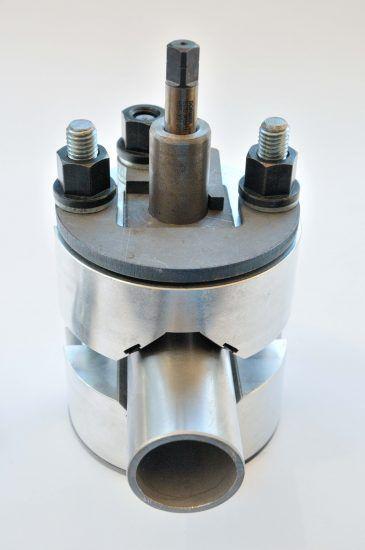 Handrail Drill & Tap Jig