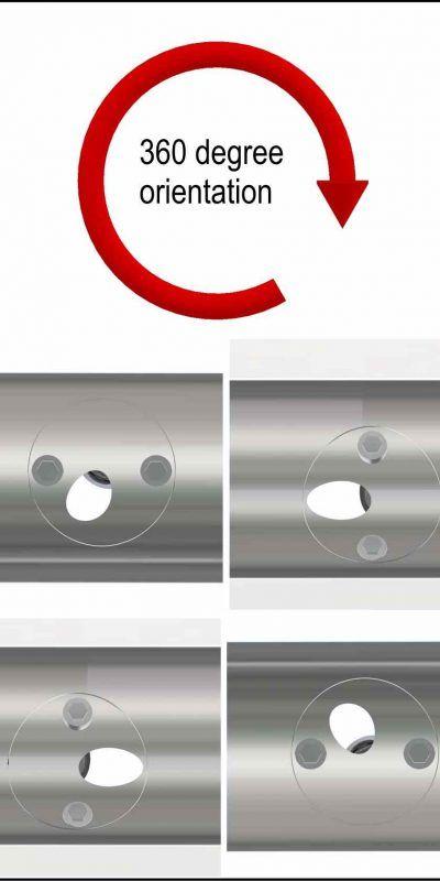 RAILled 2D Asymmetric handrail lighting