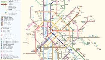 Transit Maps: Official Map: Brussels Metro, Tram and Rail Network, 2012