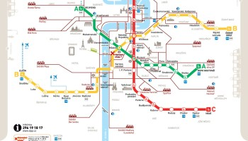 Transit Maps Official Map Transports En Commun Lyonnais System Map