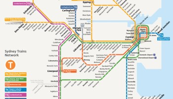 Transit Maps: Reader Question: Why is Homebush Station Shown ...