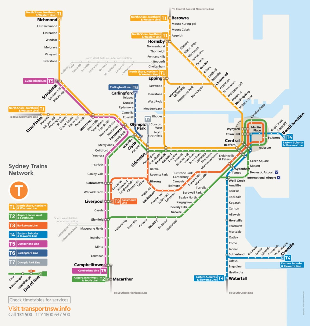 Transit Maps: Future Map – Possible Sydney Trains Network Map for ...