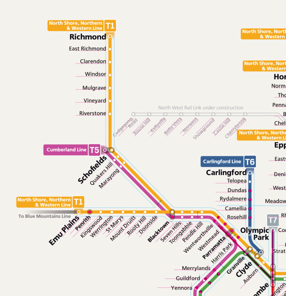 Transit Maps: Technical Review: New Sydney Trains Network Map