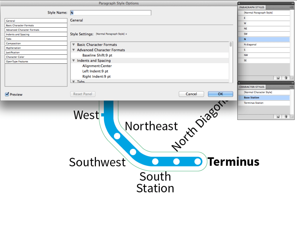 Transit Maps: Tutorial: More on Using Point Type in