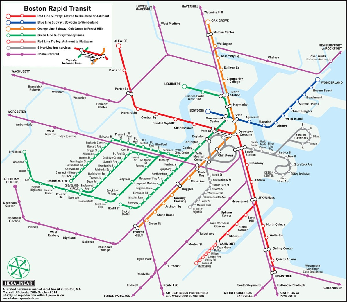Chelsea Subway Map.Transit Maps Unofficial Maps Maxwell Roberts Variants On The