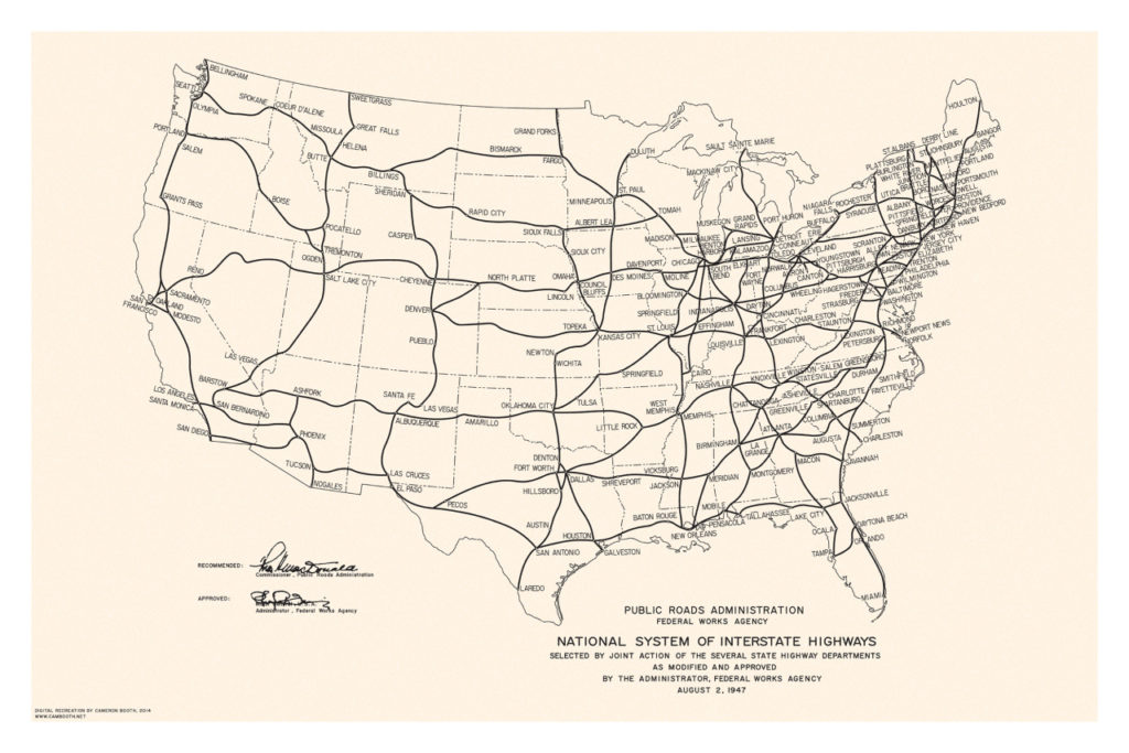 Transit Maps: New Project: Digital Recreation of 1947 ...