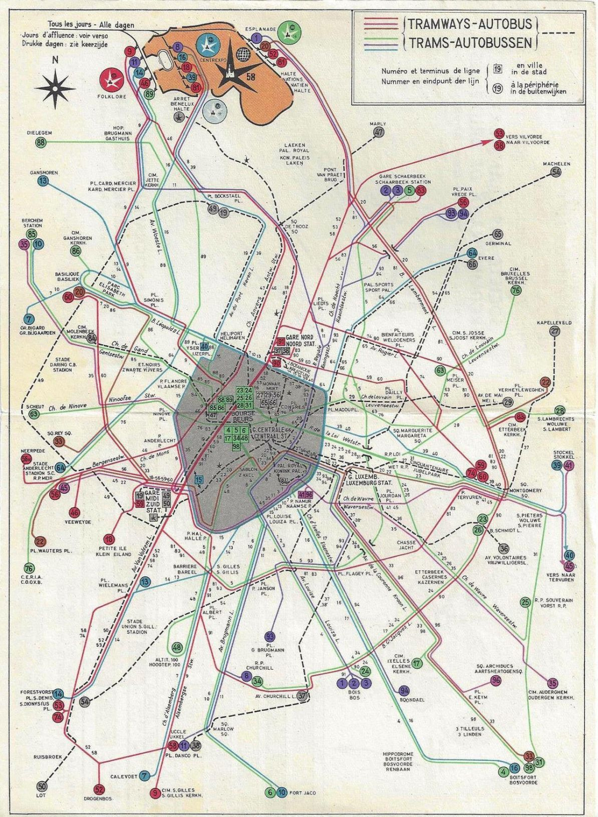 Transit Maps: Submission – Historical Map: Trams and Buses ...