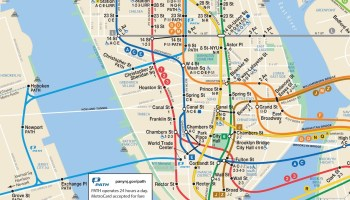 Official Ny Subway Map.Transit Maps Submission Official Map New York Mta Connections To