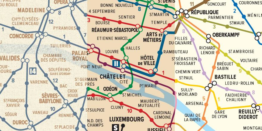 Paris Metro Map Printable.Transit Maps New Print Digital Recreation Of A 1956 Paris Metro Map