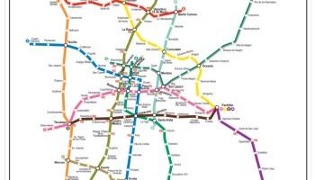 Transit Maps Photo Mexico City Metro Linea 1 Strip Map
