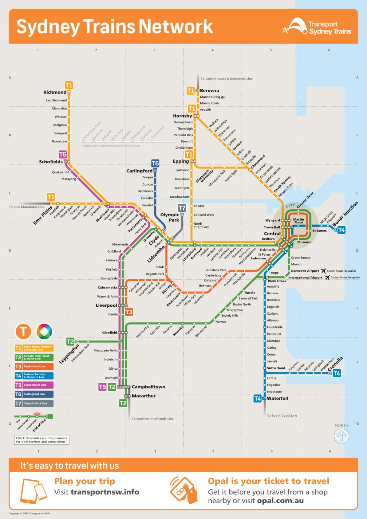 Transit Maps: Submission – Updated Official Map: Sydney ...