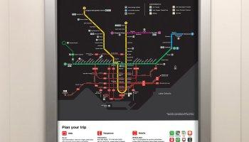 Toronto Subway Map Poster.Transit Maps Submission Future Map 2021 Ttc Subway Toronto Canada