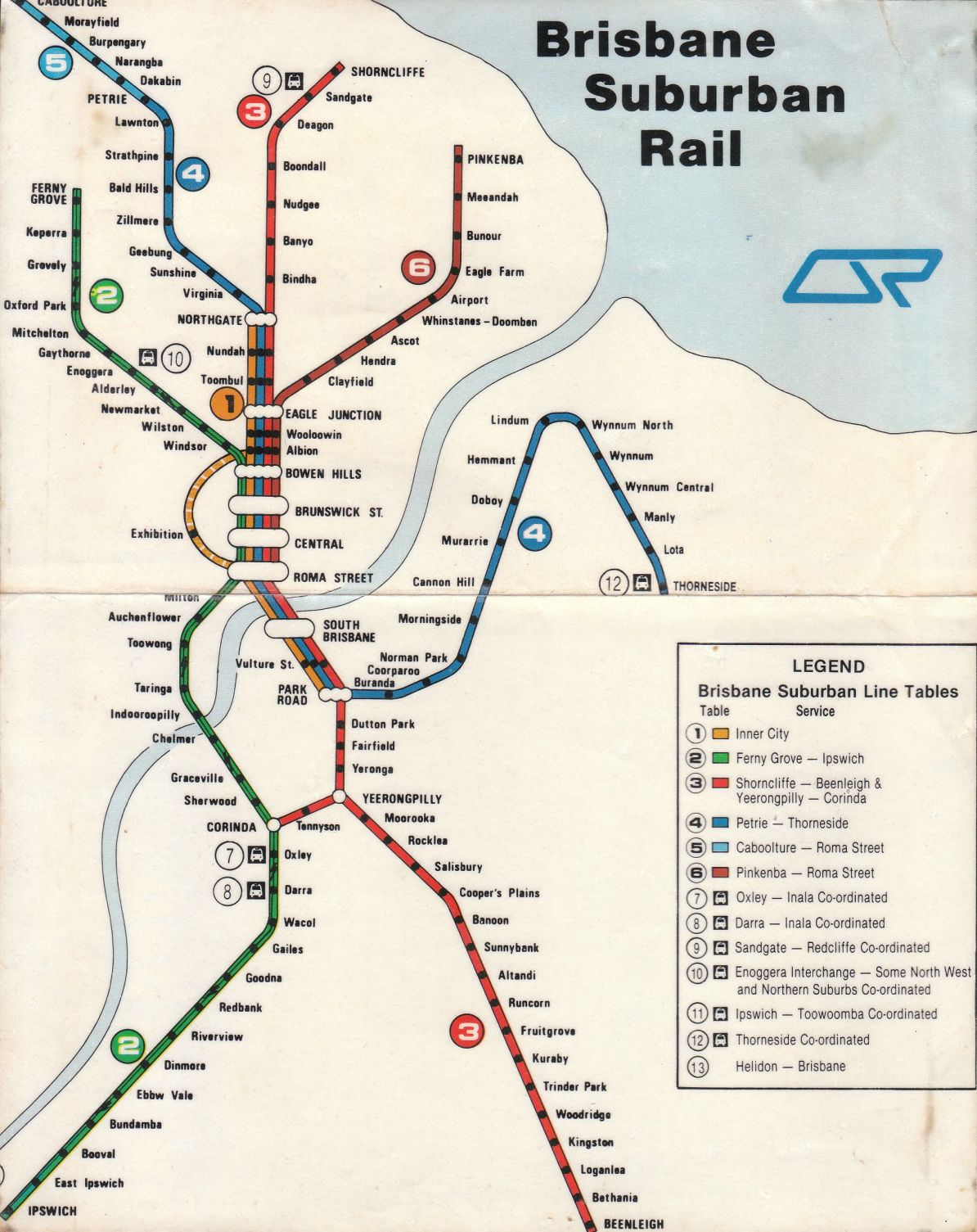 Map Of Brisbane Australia.Transit Maps Historical Map Suburban Rail Of Brisbane Australia