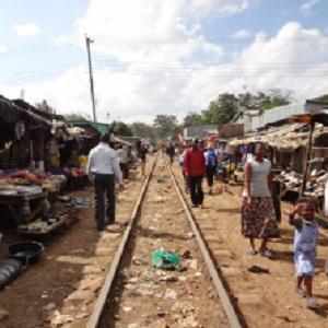 Kenya Kibera slum