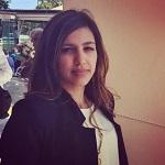Blog author refugee day