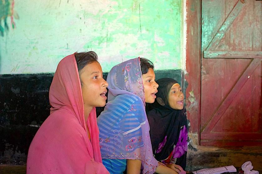 Students, Rohingya, Education, International Women's Day