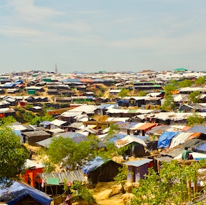 Kutupalong makeshift camp, Cox's Bazar, Bangladesh.