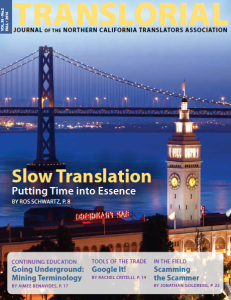 Translorial Vol 38, No. 2
