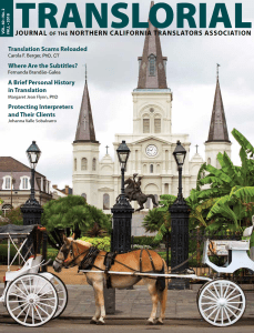 Translorial Fall 2018 Edition