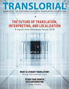 Translorial Fall 2019 Cover