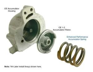 Enhanced Performance Accumulator Spring TH350, 2004R, 700R4, 4L60E  PATC