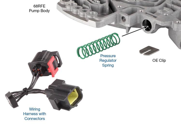 4l60e 4l65e 4l70e Transmission Wiring Harness Connector Bracket Sonnax