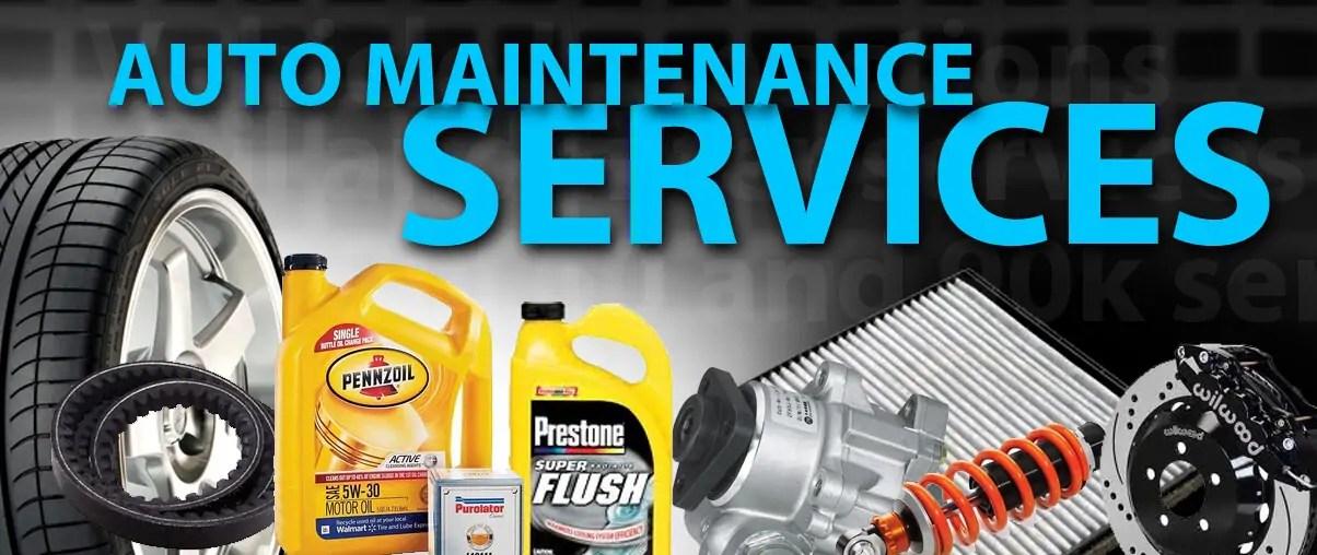 Auto Maintenance Services For Lacey Olympia Wa Washingto