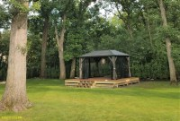 Delivery & Installation of a Visscher Gazebo and Patio