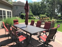 Delivery & Installation of Tropitone Patio Furniture in ...
