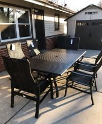 Delivery & Installation of Patio Renaissance Furniture Set ...
