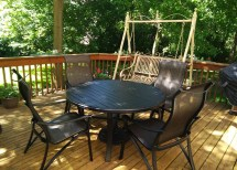 Delivery & Installation Of Tropitone Patio Furniture In