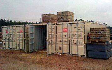 shipping and storage container modifications
