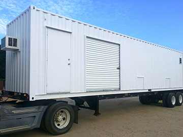delivery conditions for storage shipping containers