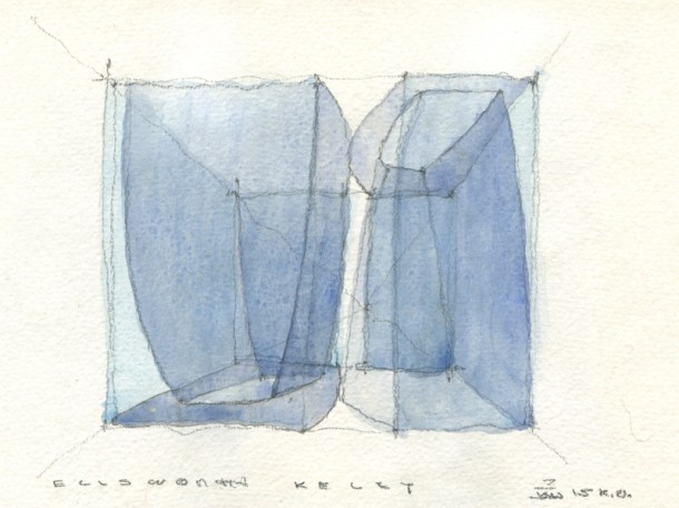 MS15-021 TRANSPARENT DRAWING ELLSWORTH KELLY