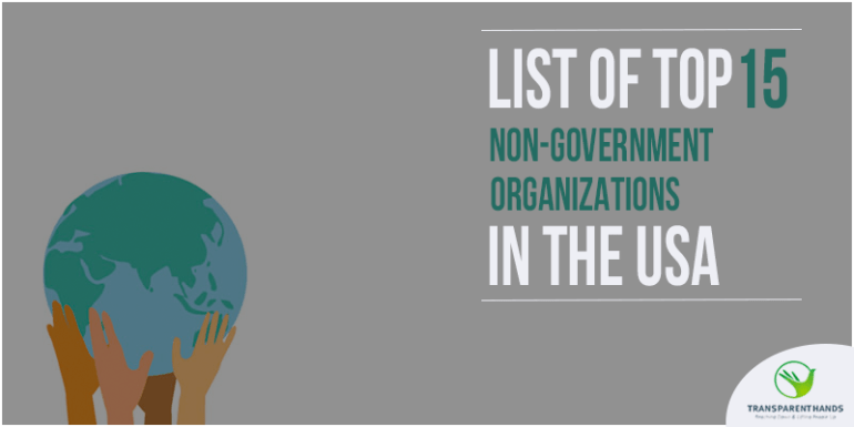 List of Top 15 Non Governmental Organizations In USA
