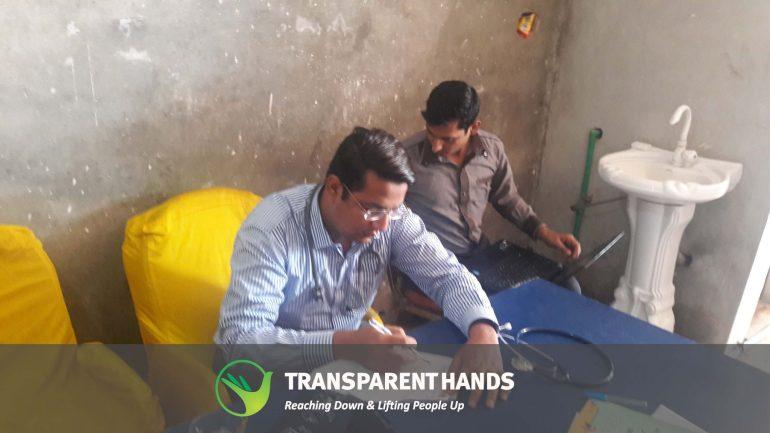 Free Medical Camp in SherGarh