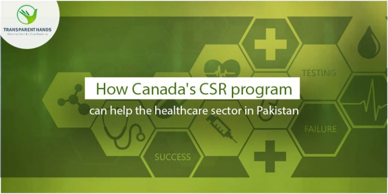 How Canada's CSR Program Can Help the Healthcare Sector in Pakistan