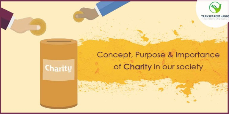 the importance of charity why i The importance of giving back to the community  donating through charity navigator is a way of making sure that your money goes exactly where you want it to go.